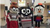 VIA unveils new company mascots