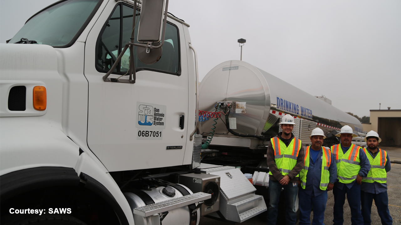 San Antonio Sending Over 5 000 Gallons Of Drinking Water To