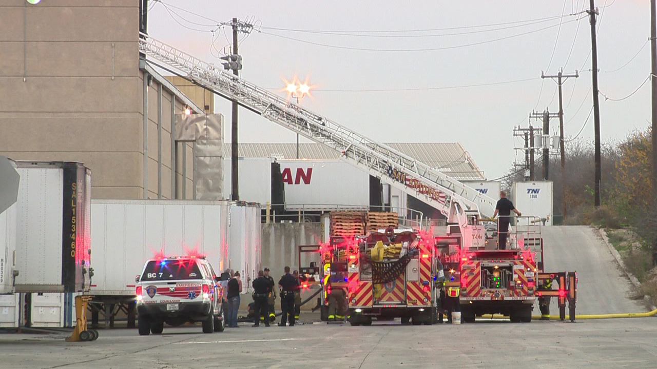 Crews Fight Fire At Northeast Side Battery Plant