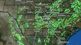 Scattered showers, storms possible on Tuesday