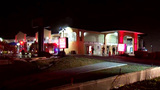 Storeroom fire forces evacuation of motel