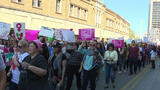 SA joins hundreds of cities across country in international women's rights march
