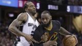 Leonard scores career-high 41, Spurs down Lebron, Cavs 118-115 in OT
