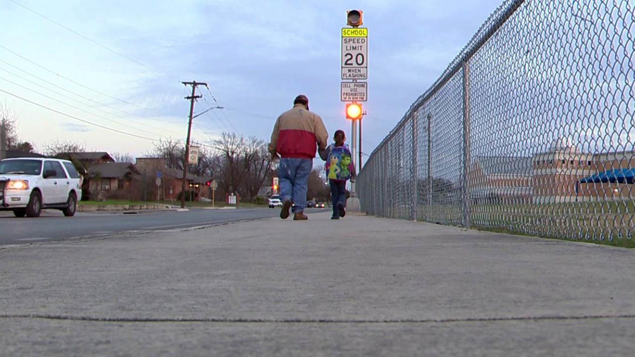 Car Crashes Into Elementary School