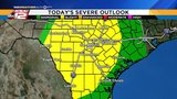 Heavy rain, storms in forecast for SA area Sunday night