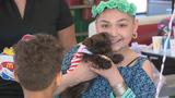 11-year-old with breast cancer gets special birthday celebration