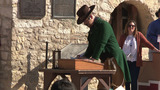People recreate famous Alamo moments in history