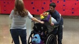 Video: Teen surprises classmate with special needs with epic promposal