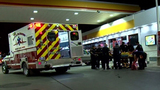 Stabbing victim shows up at convenience store