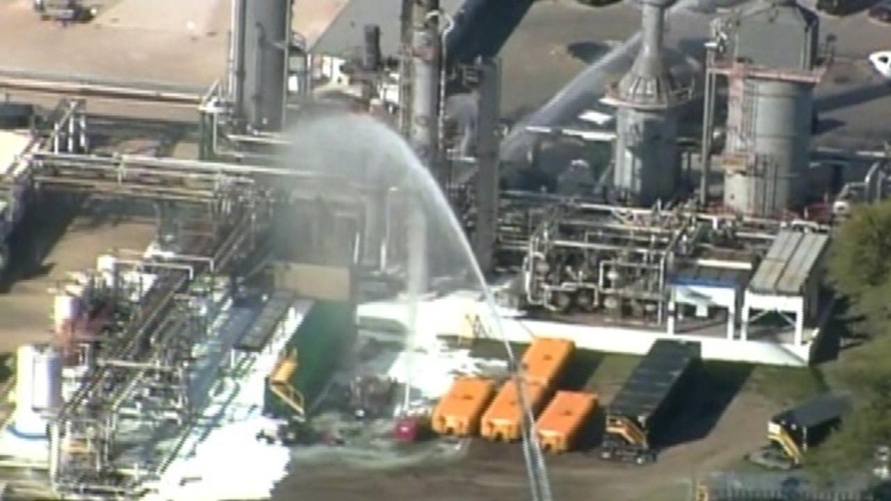 NuStar refinery shut down after fire