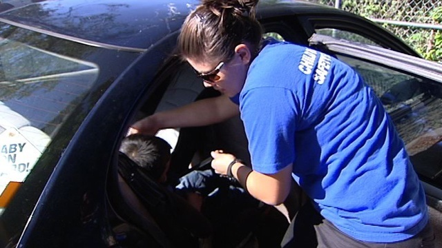 Parents Have Limited Options For Child Safety Seat Inspections