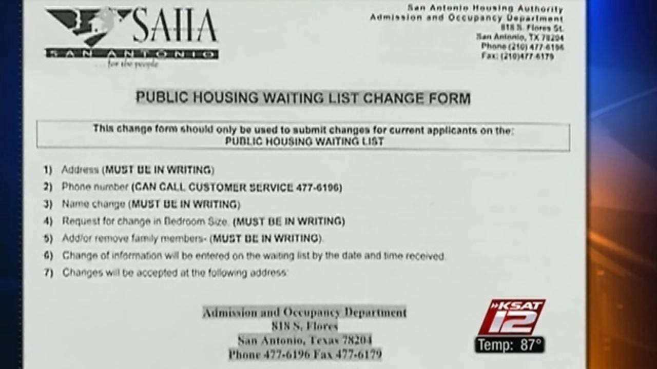 Single mom accuses San Antonio Housing Authority of