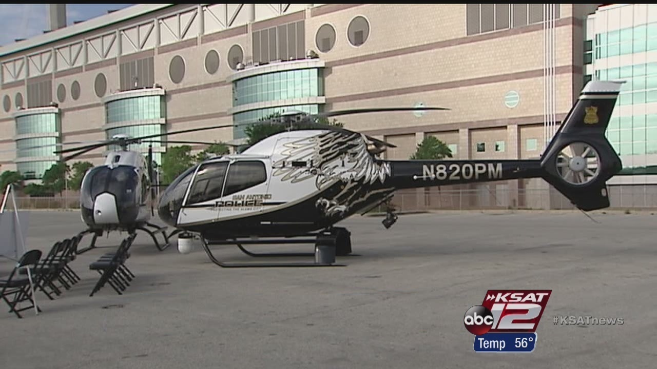 Sapd Unveils New Eagle Helicopters