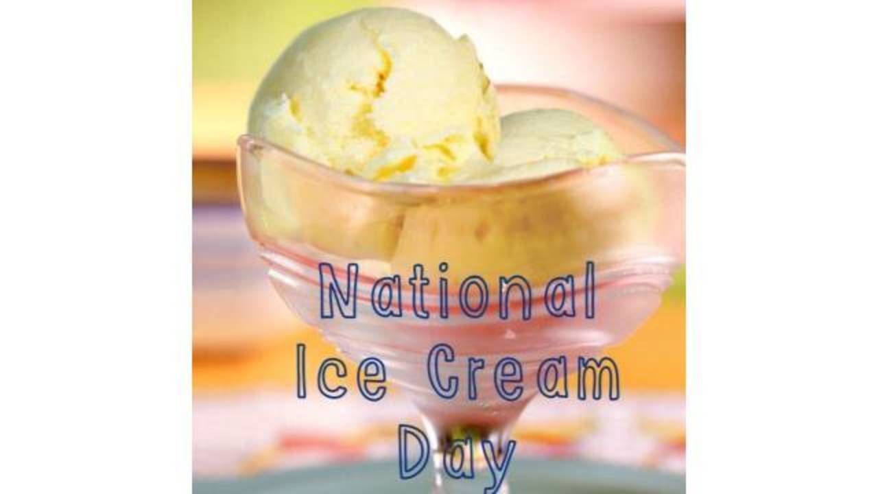 Sunday Is National Ice Cream Day