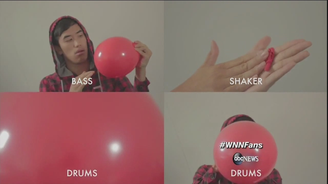 99 Red Balloons Played Entirely On