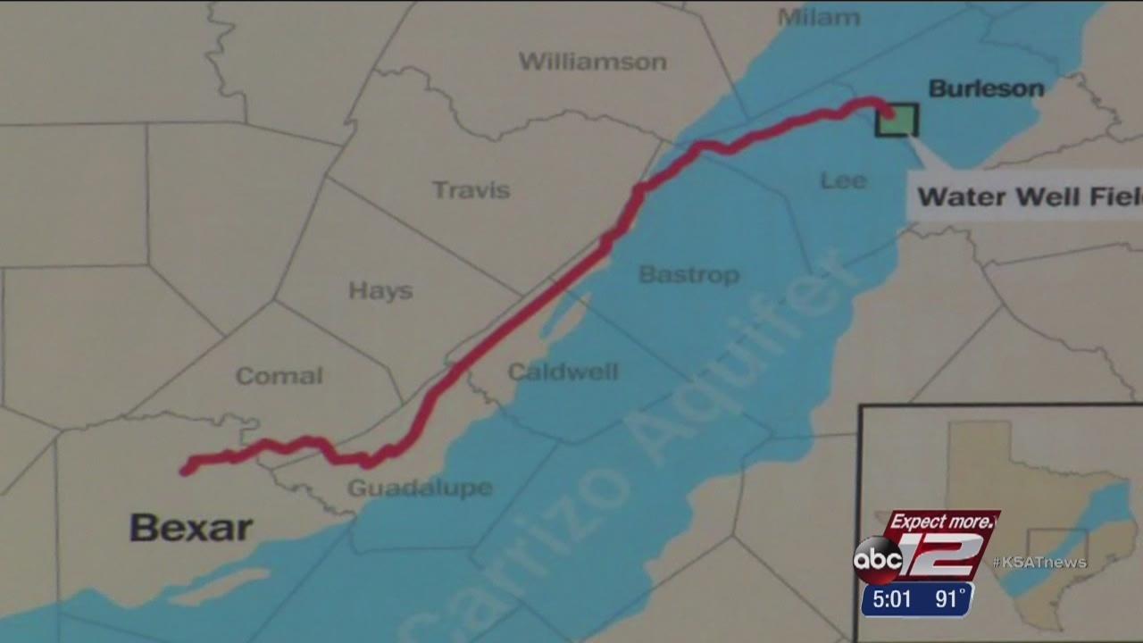 Saws Ok S Vista Ridge Pipeline Project