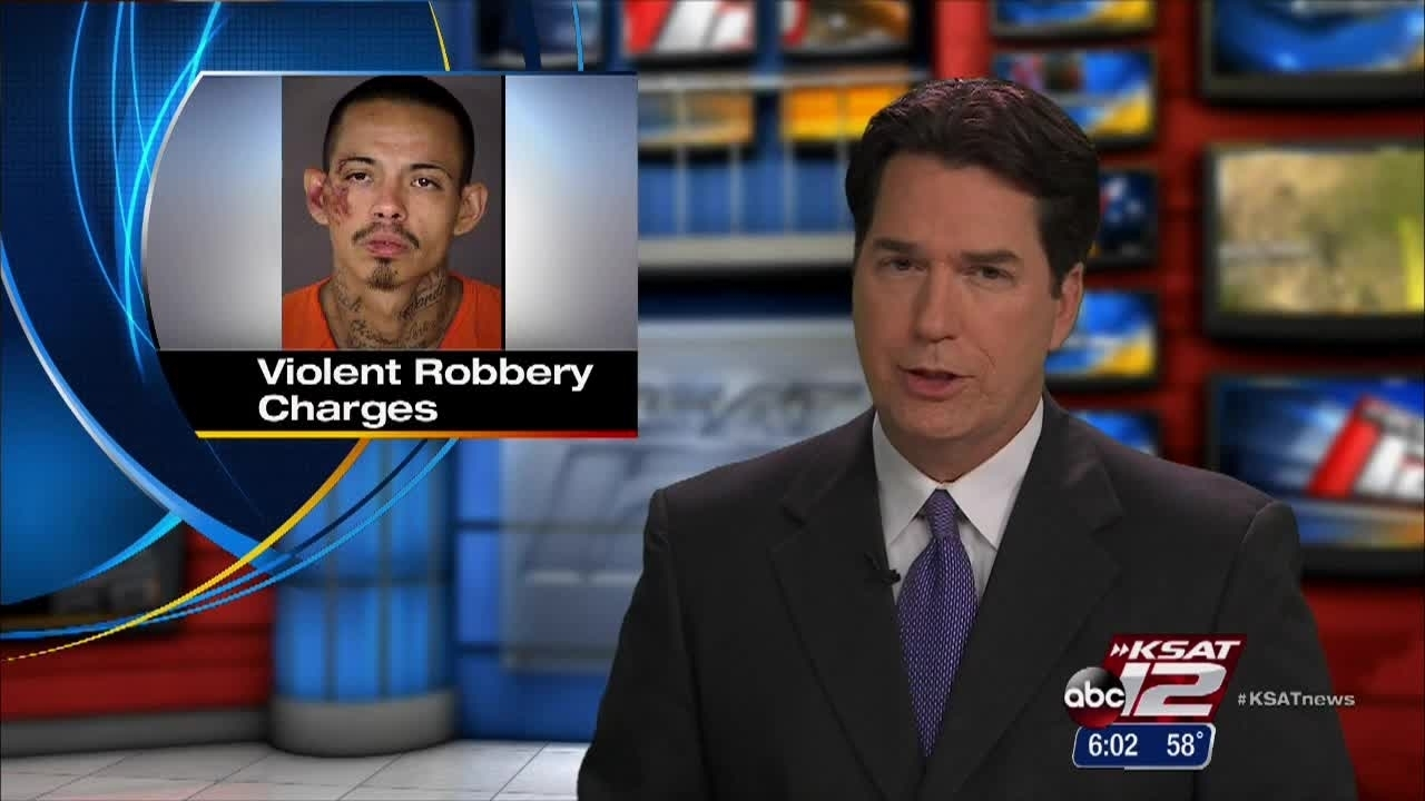 Suspect in violent store robberies has lengthy criminal history