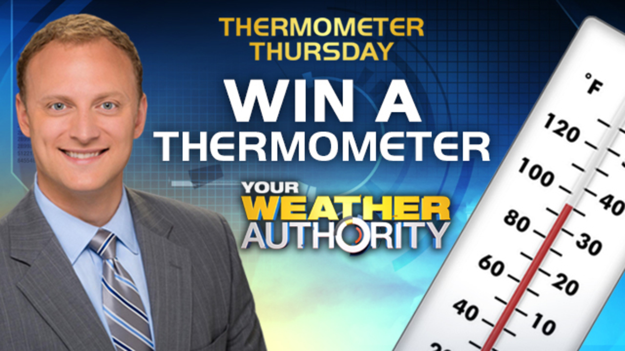 enter for your chance to win a weighted a chance to win an adam caskey thermometer