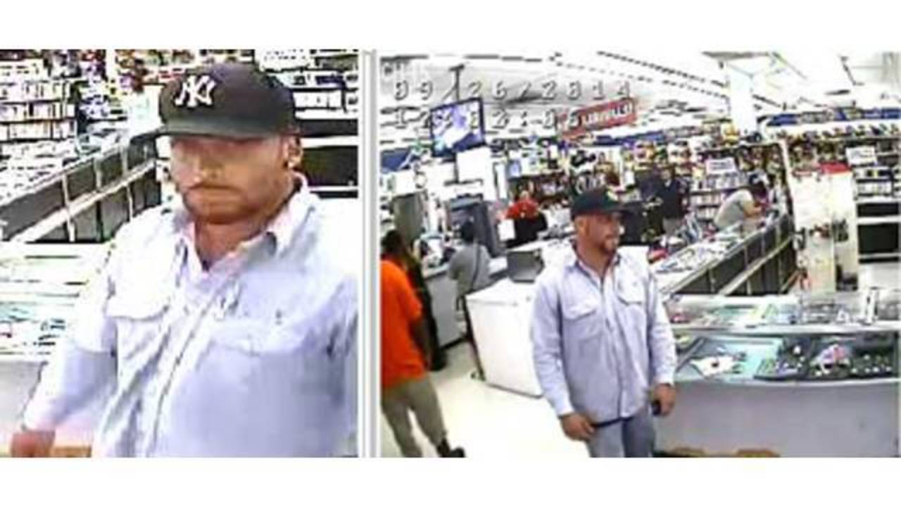 Man Sought In Ez Pawn Robbery