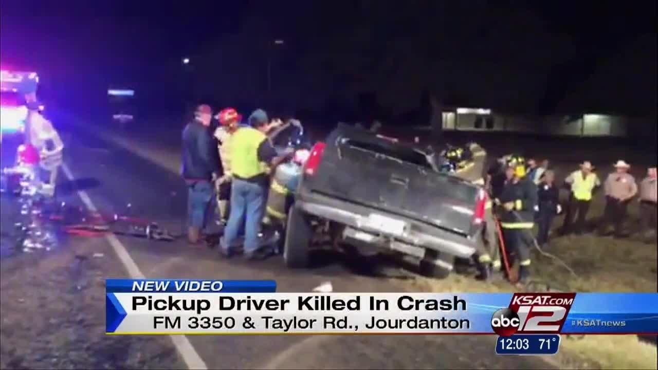 1 Killed 1 Injured In Jourdanton Crash