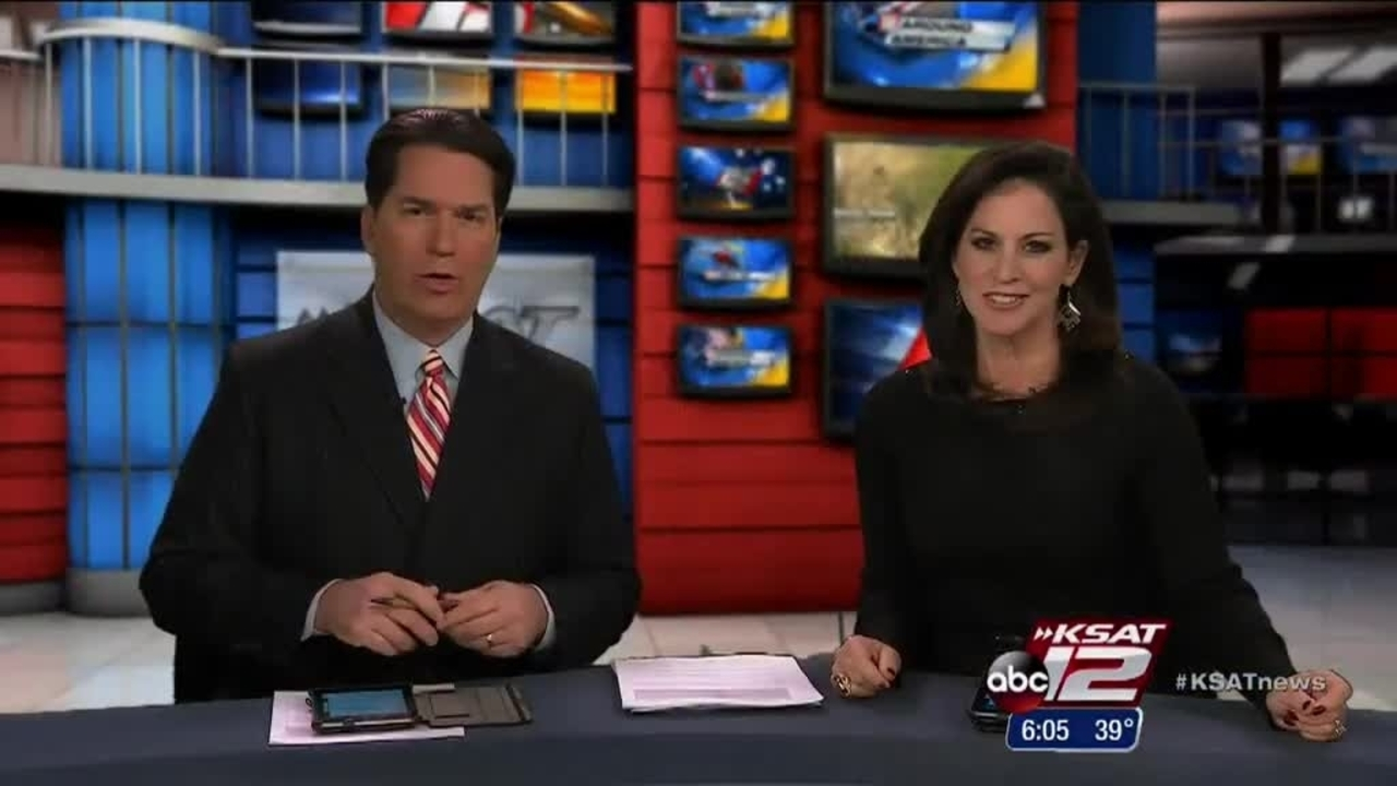 Ksat S David Sears Katie Vossler Check Out Sa Rodeo