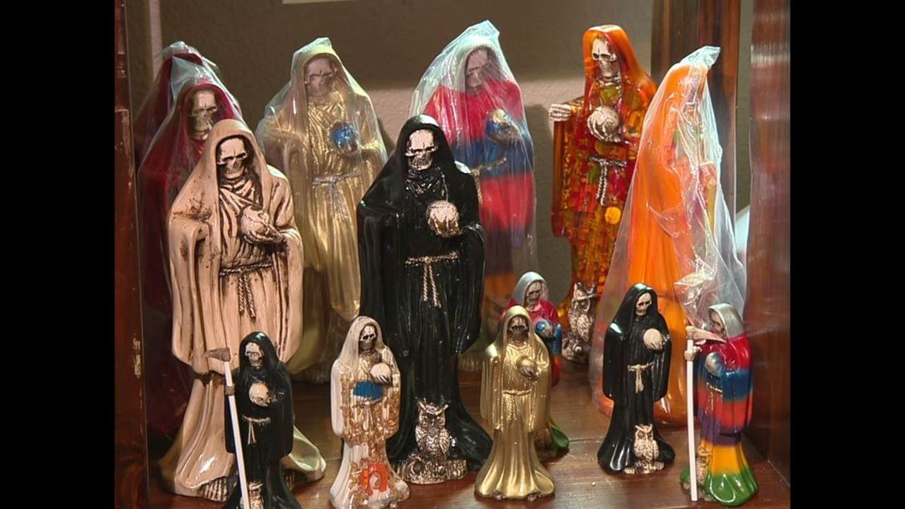 The colors of Santa Muerte