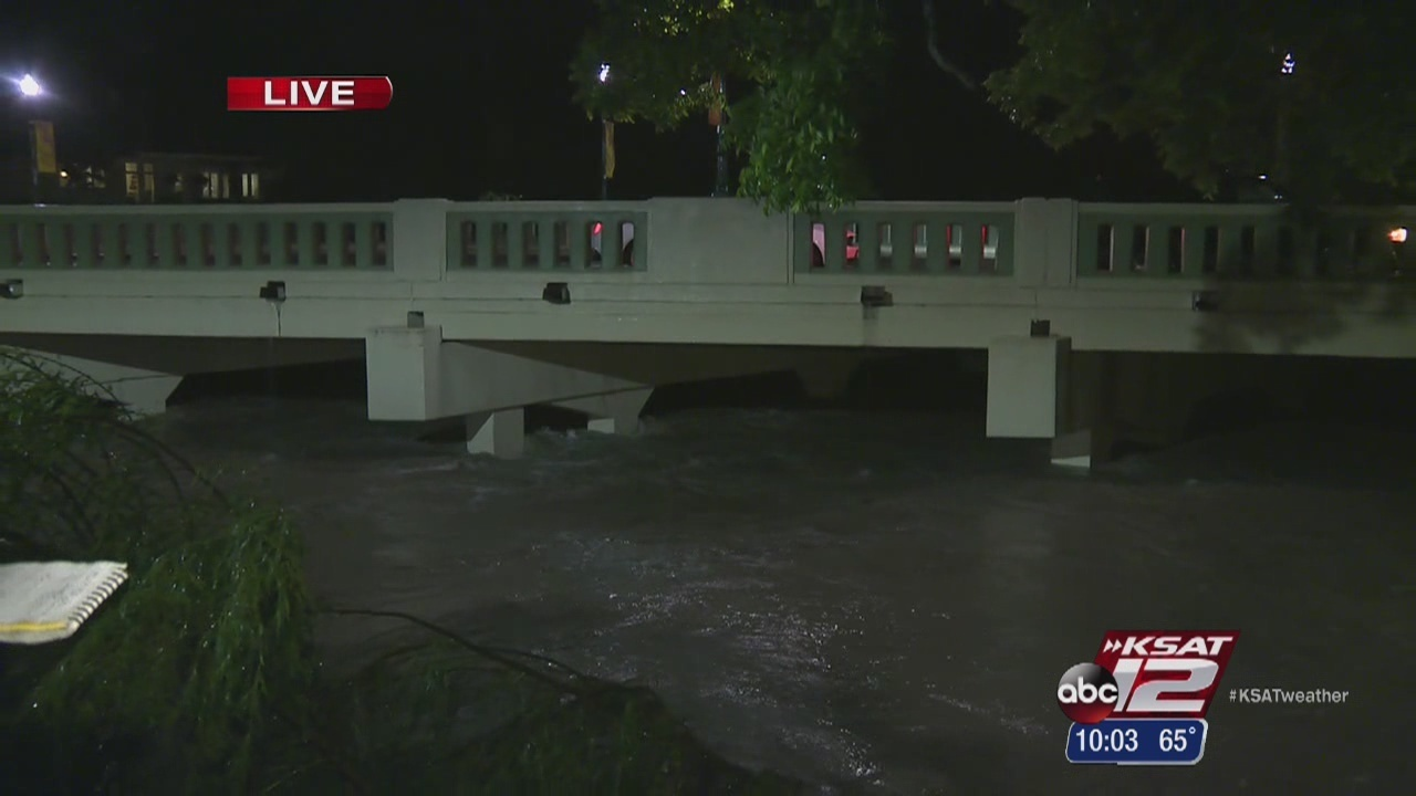 Heavy Rains Lead To Flooding In Boerne