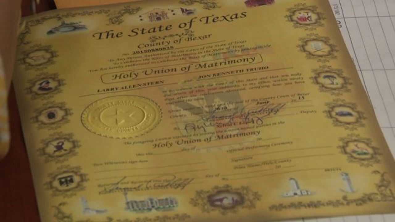 Bexar County Clerk's Office Begins Issuing Samesex Marriage