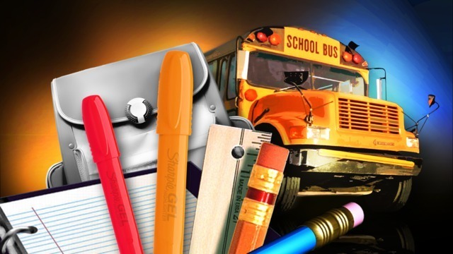 Stock up on school supplies during tax-free weekend