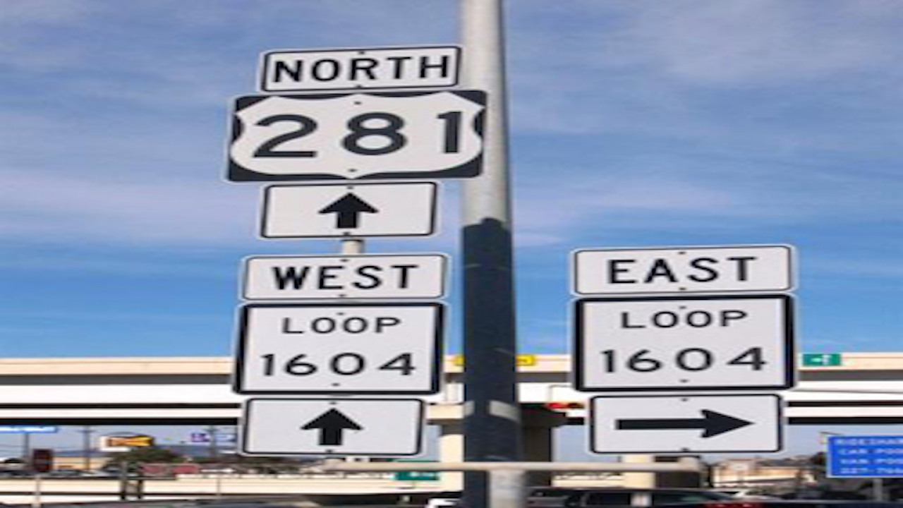 Big closure at 281/1604 intersection this weekend