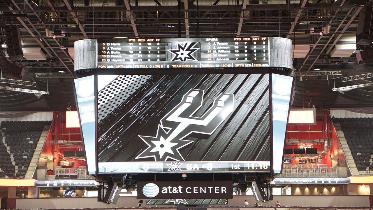 Slideshow renovations at at t center unveiled for Dining near at t center san antonio