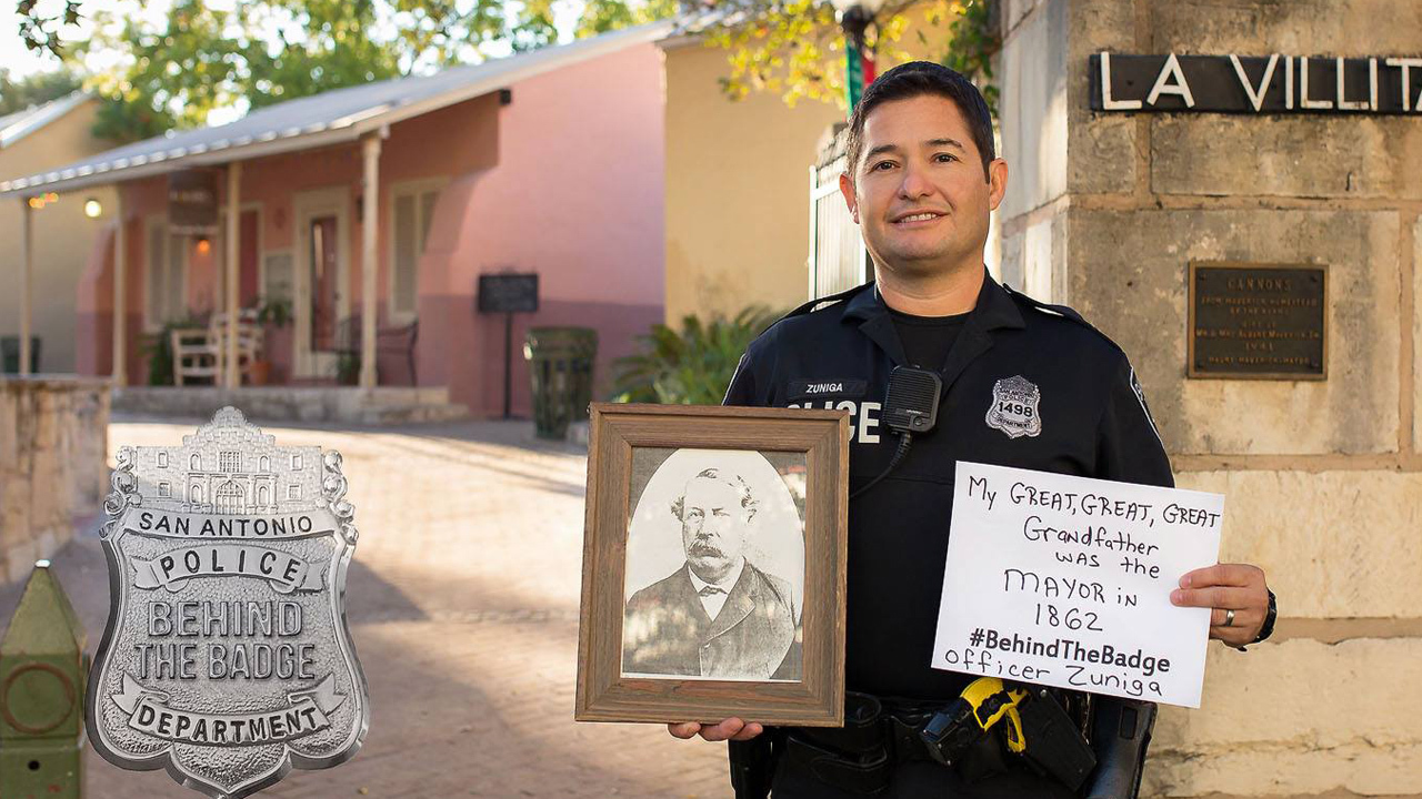 Sapd Goes Behind The Badge To Show Officers Personal