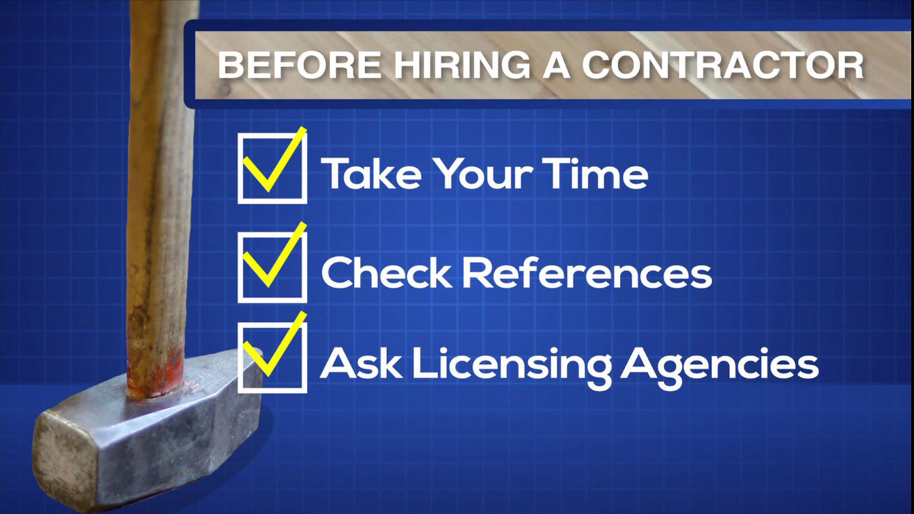 Tools needed to hiring a contractor for Hiring a contractor