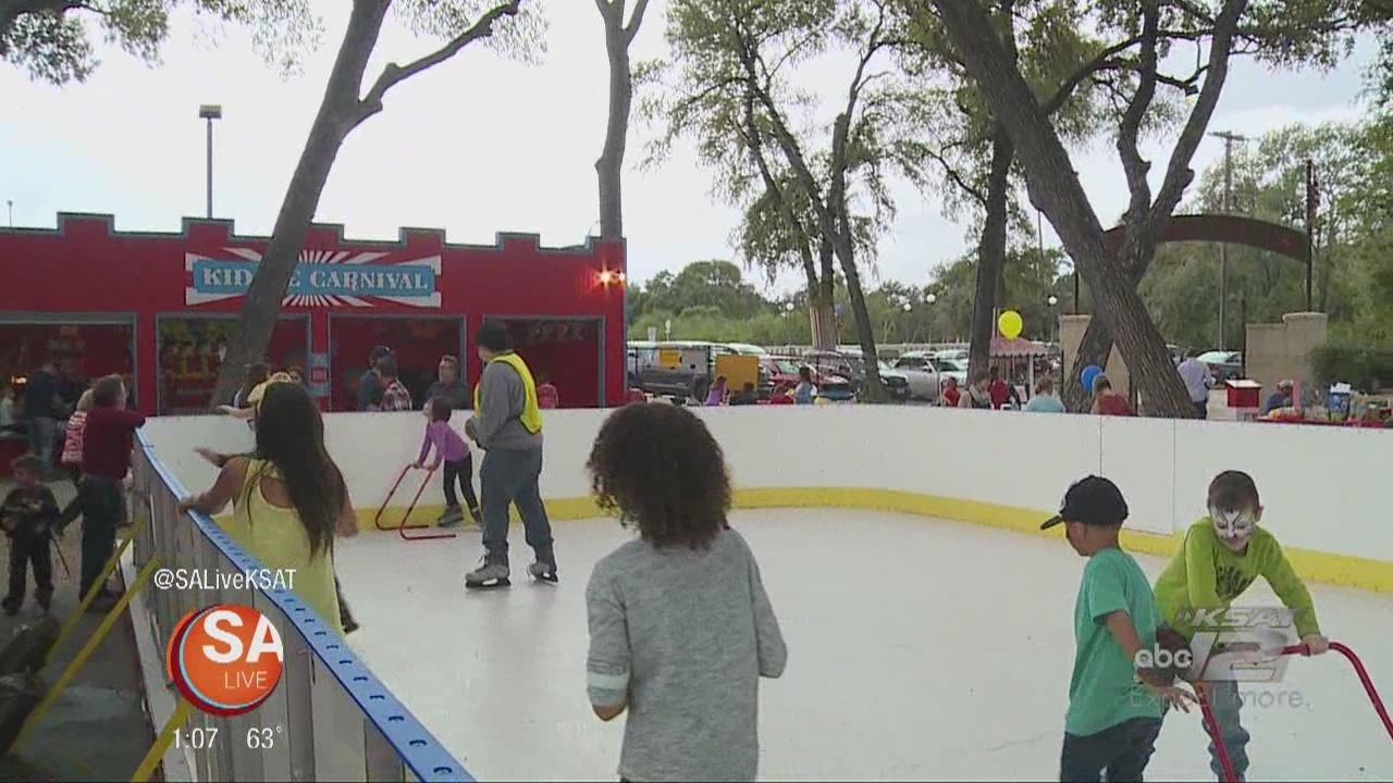 Kidde Park Opens Ice Skating Rink In San Antonio