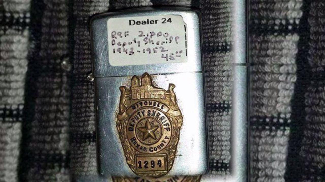 1950s Era Bexar County Sheriff S Lighter Found In Alaska
