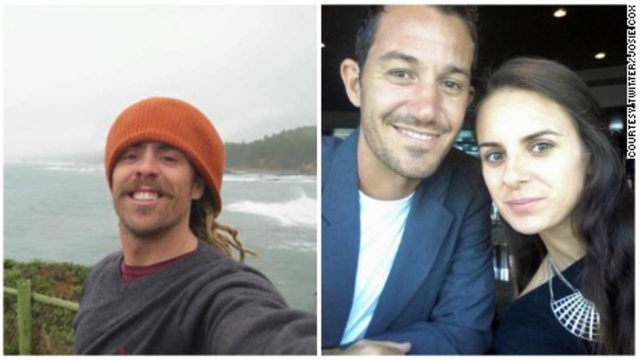 Missing surfers Adam Coleman and Dean Lucas