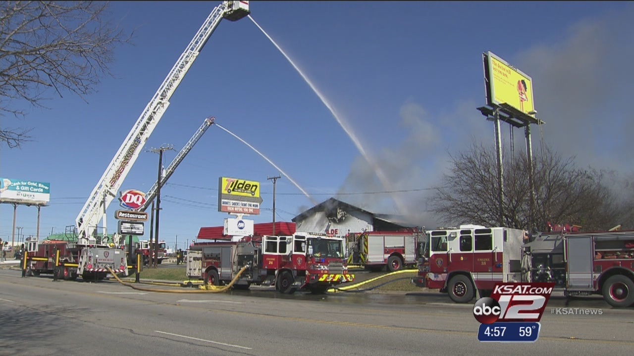 Northeast Side auto shop destroyed in afternoon fire