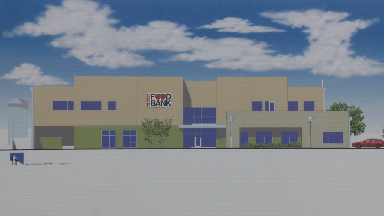 San Antonio Food Bank breaks ground on new facility in New...