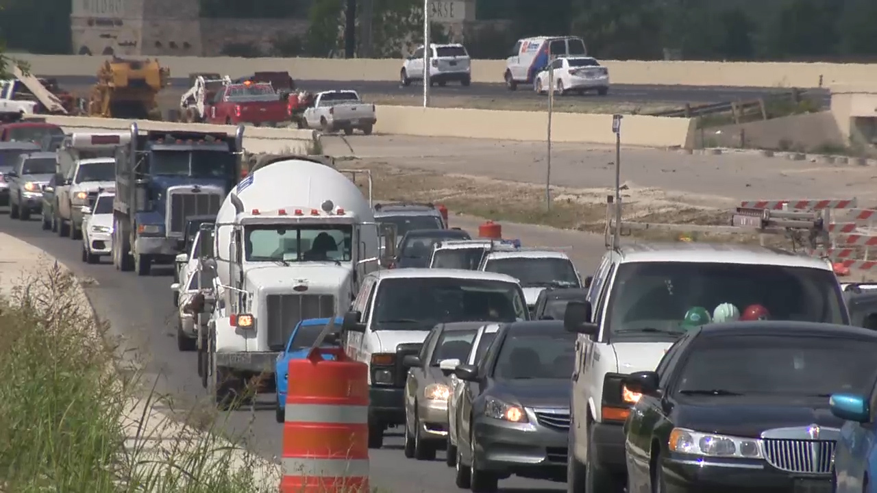 Long Awaited Stretch Of Loop 1604 Opens On Northwest Side
