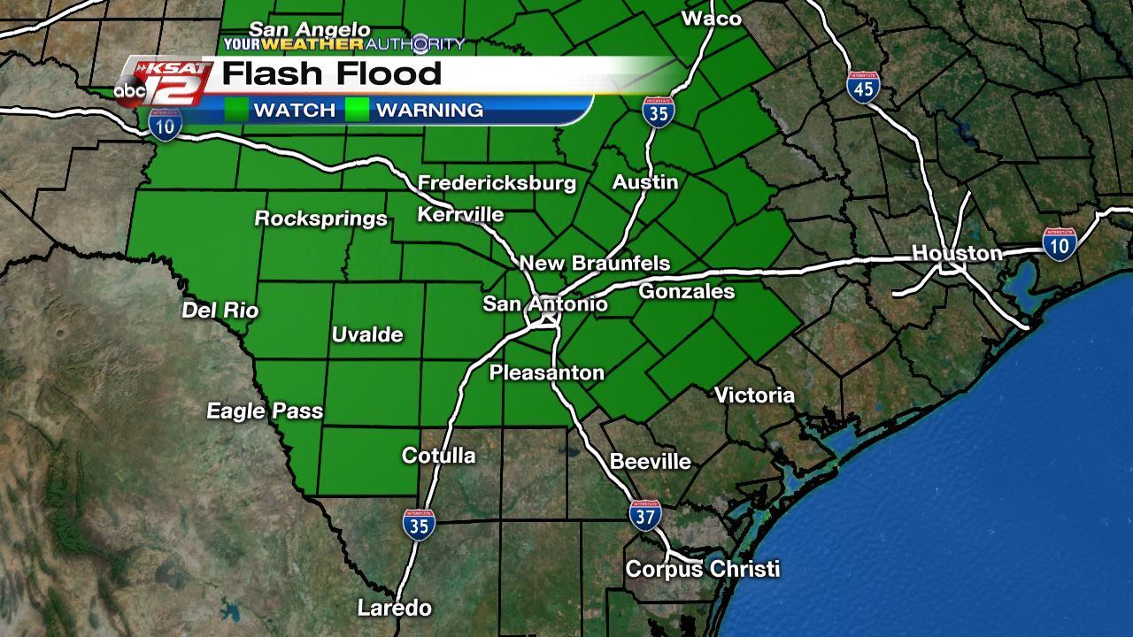 After Heavy Rains Tuesday Flash Flood Watch Remain In Effect