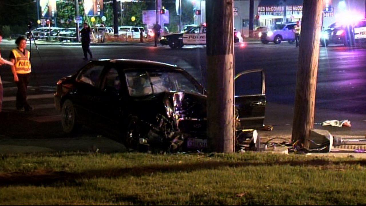 Man Killed After Crashing Into Telephone Pole On Ingram Road