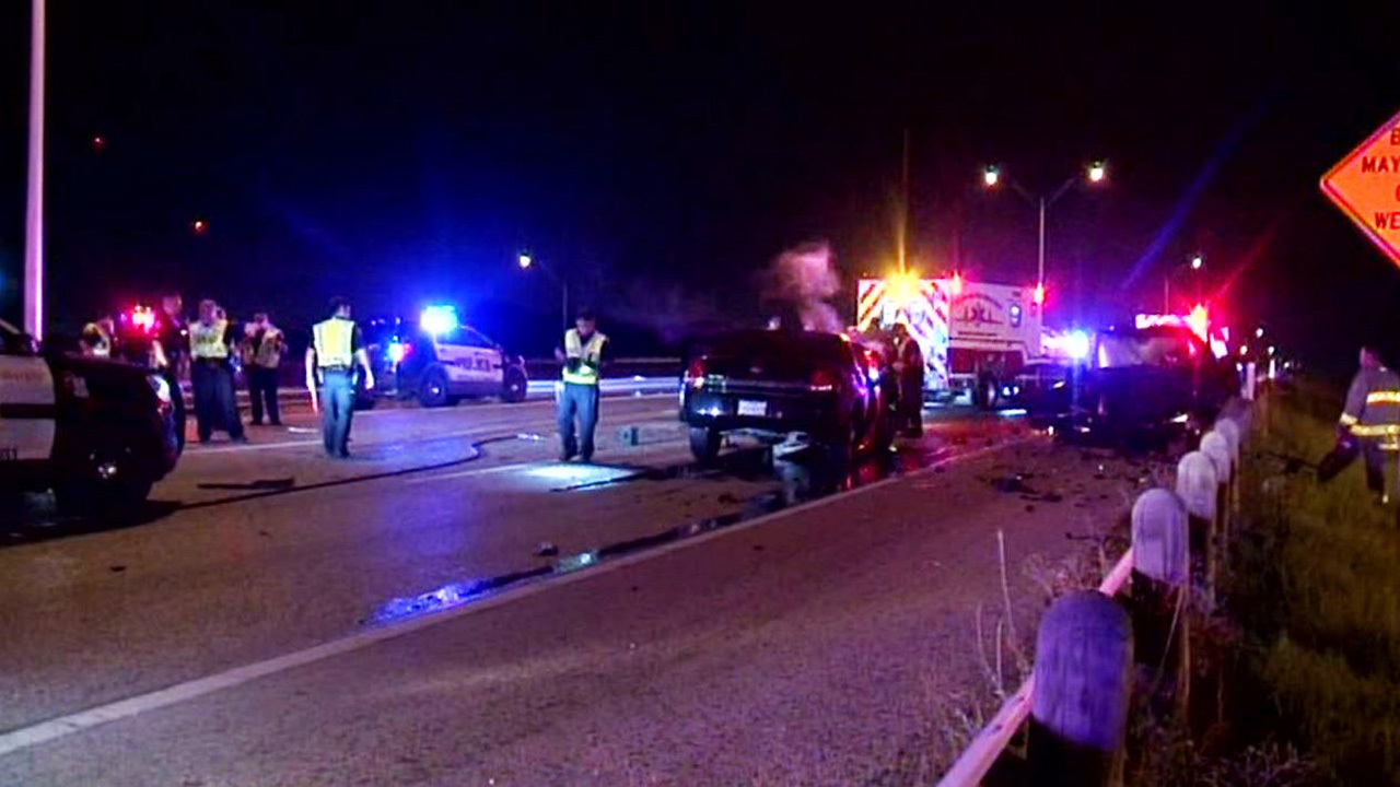 Woman dies in wrong-way crash, driver facing charges ...