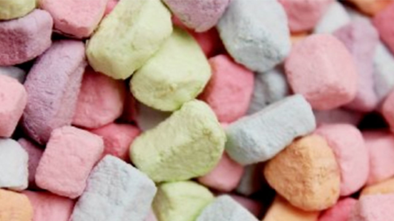 you can buy bags of just lucky charms marshmallows