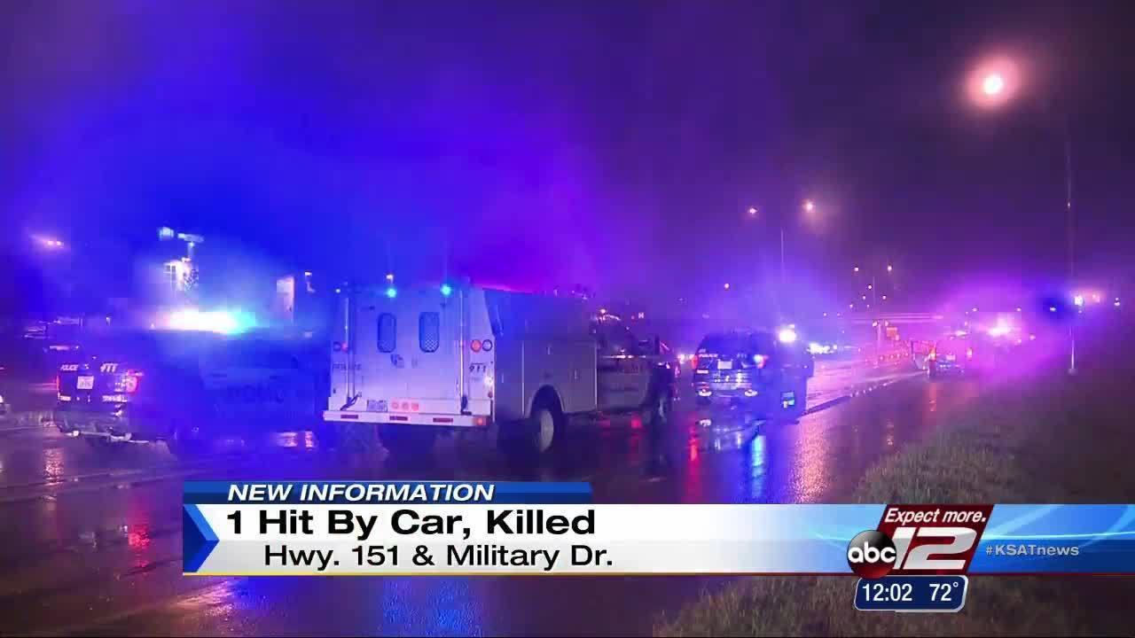 Pedestrian killed on city's West Side