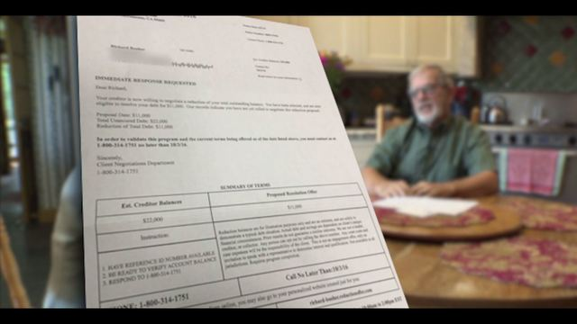 Video Thumbnail For VIDEO Debt Forgiveness Letter Prompts Warning From Better Business Bureau