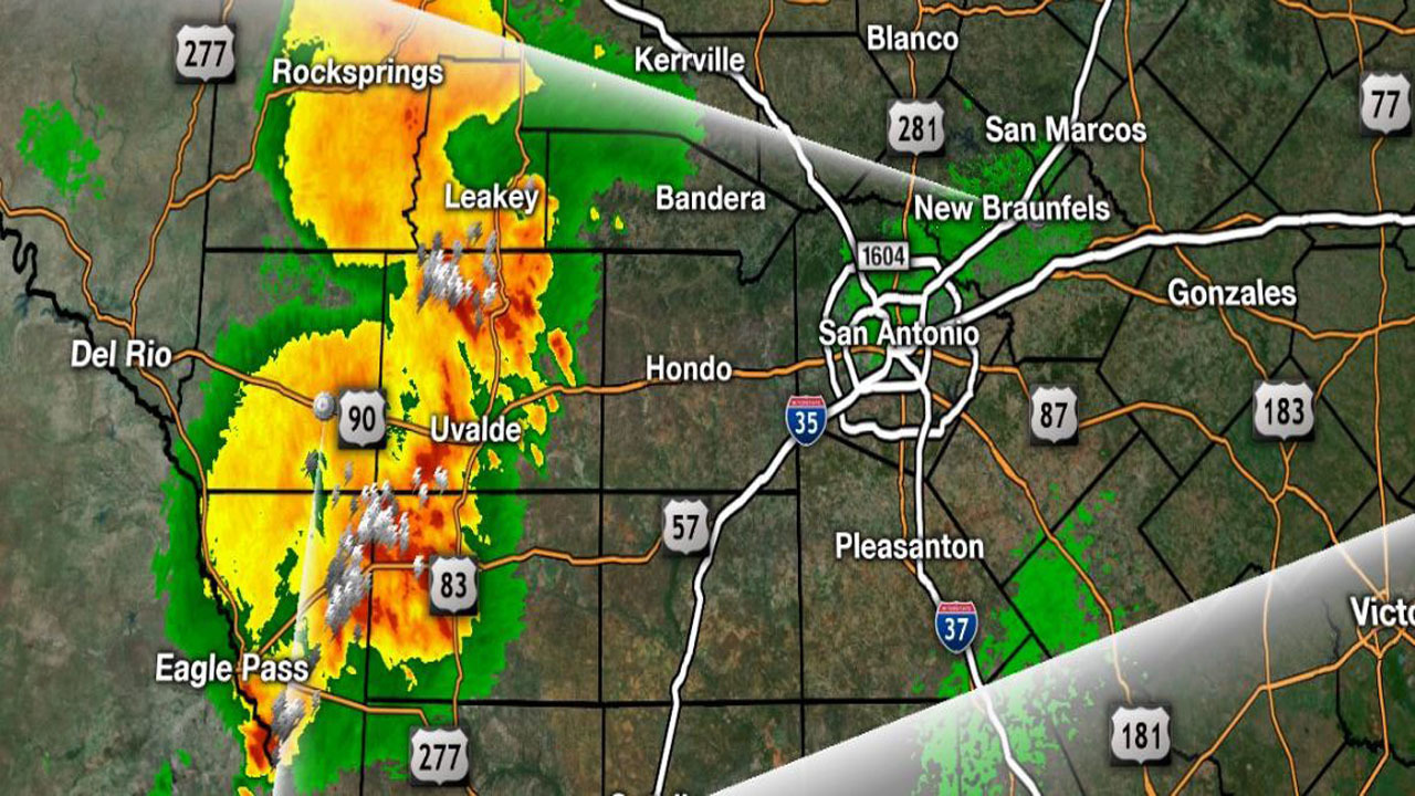 Ksat Weather Some Showers Expected Tuesday