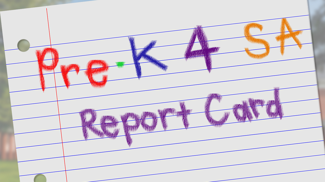 Pre-K 4 SA study results by the numbers