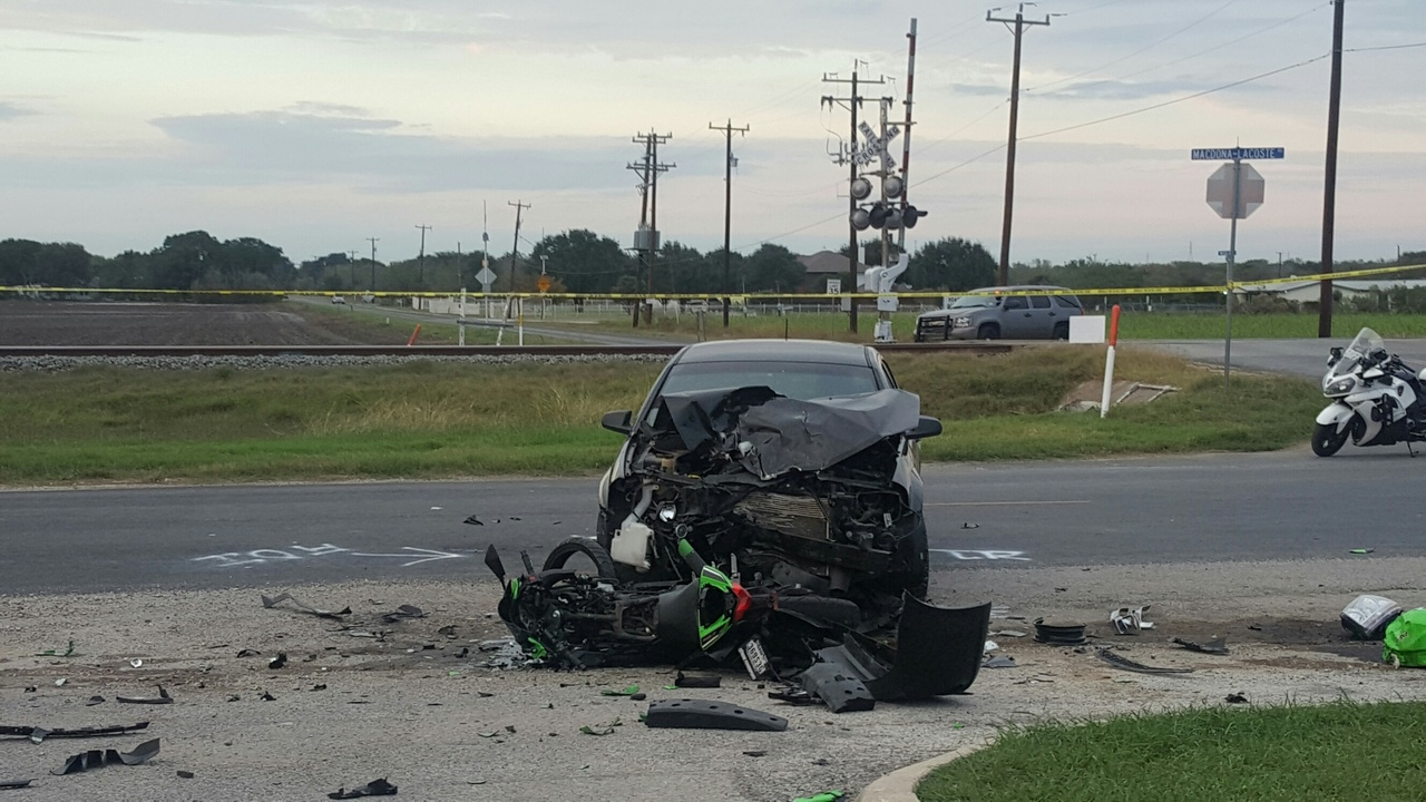 motorcyclist killed in crash with car pulling into church