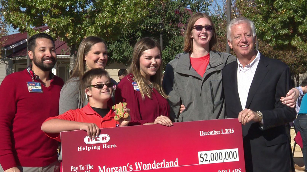 H E B Donates 2 Million To Morgan S Wonderland For