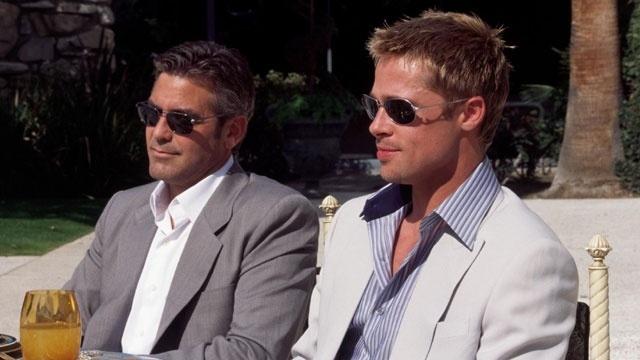 George Clooney, Brad Pitt, Ocean's 11_17151020016620